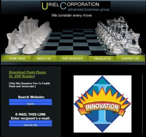 a) Uriel-Corporation-Think-Tank-Home-Page-1