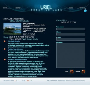 UrielCreativeLabs-Contact-Page