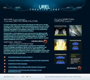 UrielCreativeLabs-HomePage